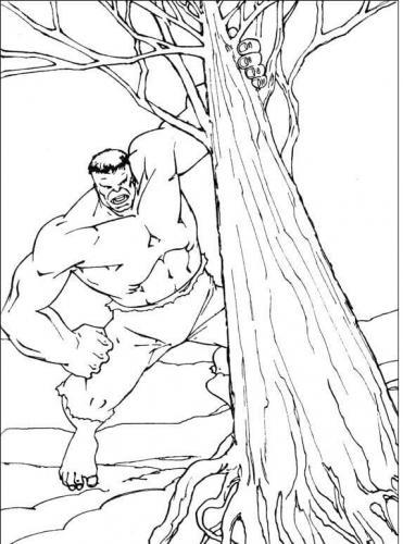 hulk distrugge l'albero