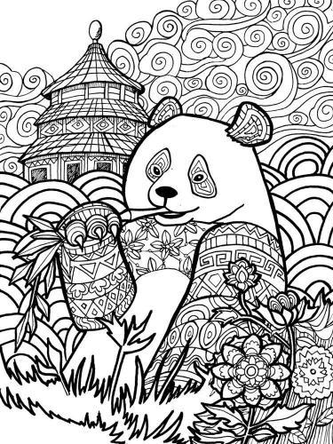 panda simpatico