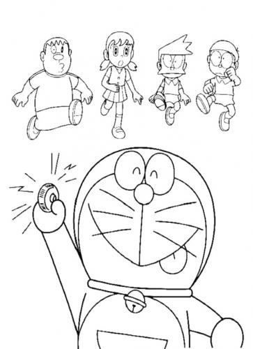 I disegni di Doraemon