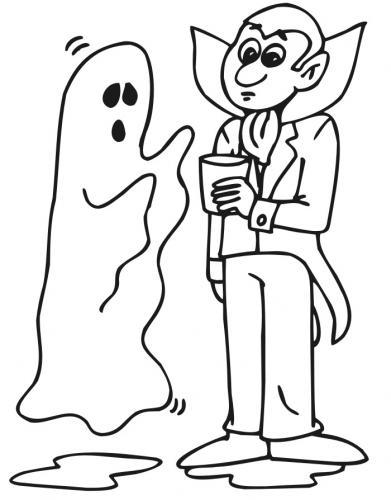 fantasma con Dracula