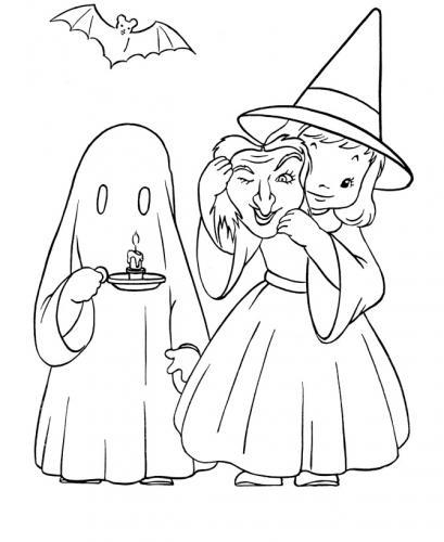 bambina con fantasma