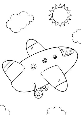 immagine aereo bambini