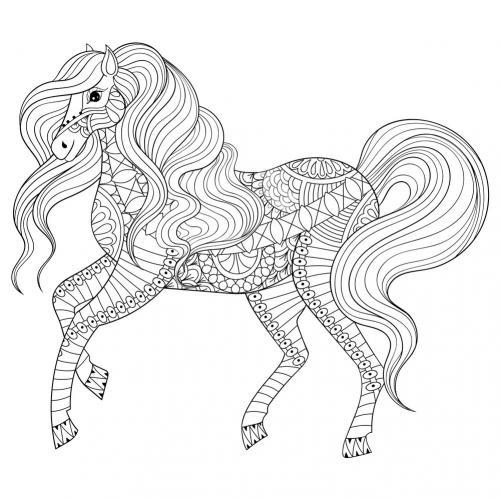 immagine cavallo stilizzata
