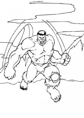 immagine di hulk arrabbiato