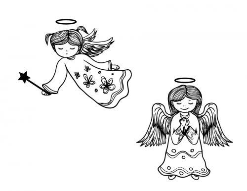 angeli da stampare