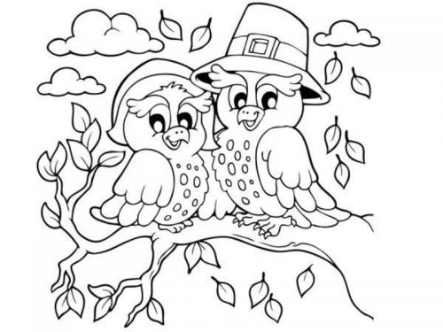 Uccelli sul ramo