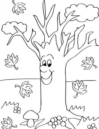 Albero senza foglie