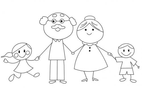 bambini con i nonni