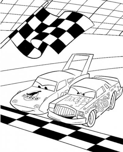 immagini cars da colorare
