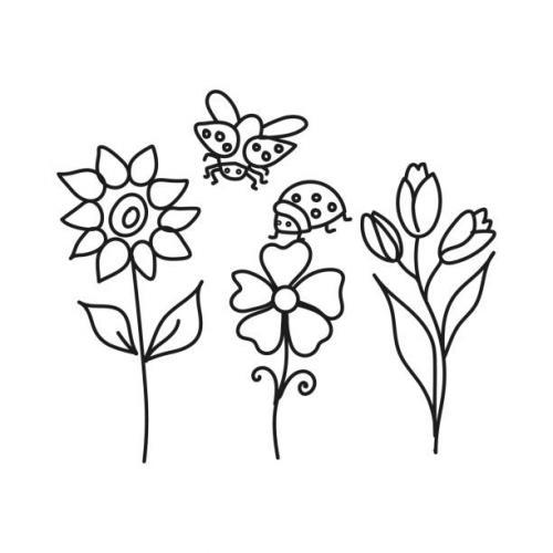 immagini coccinelle disegni