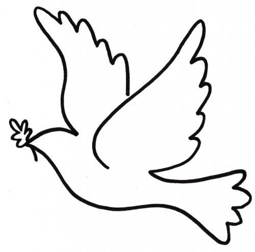immagine stilizzata colomba