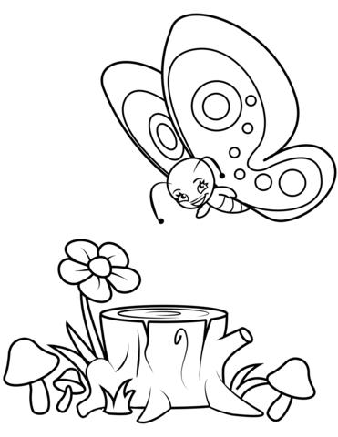 immagini con fiori e-farfalle