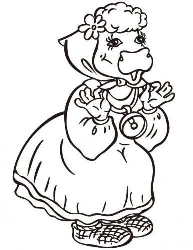 mucca vestita