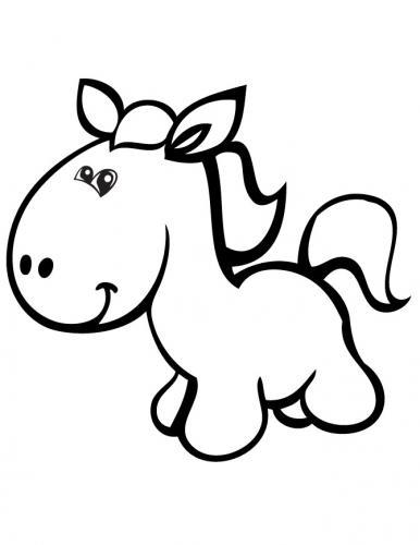 immagini da colorare dei cavalli