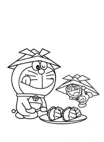 Immagini da colorare di Doraemon