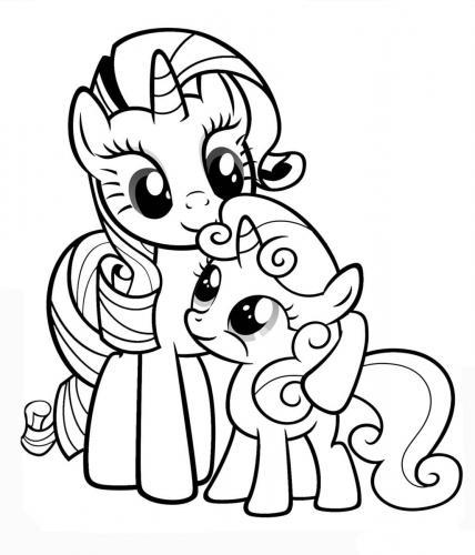 Immagini da colorare My Little Pony