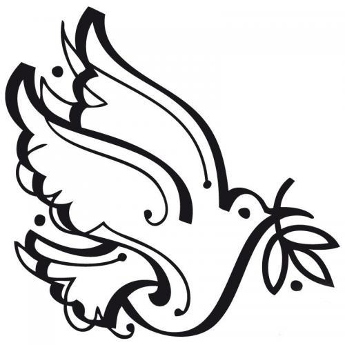 colomba decorata