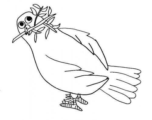 colomba romantica