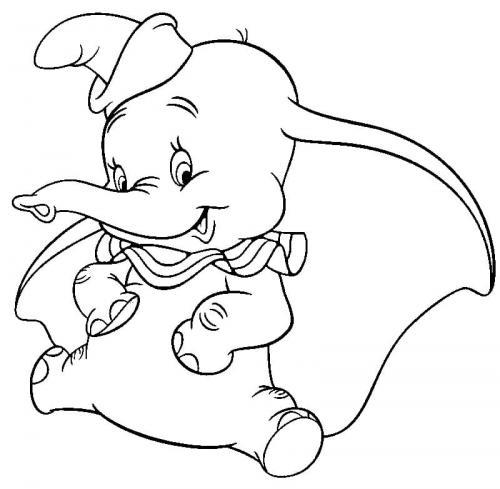 immagini da disegnare Dumbo