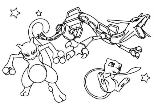 immagini dei Pokémon da colorare