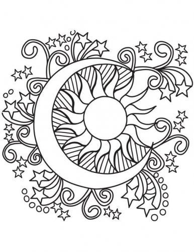 Il sole nella luna