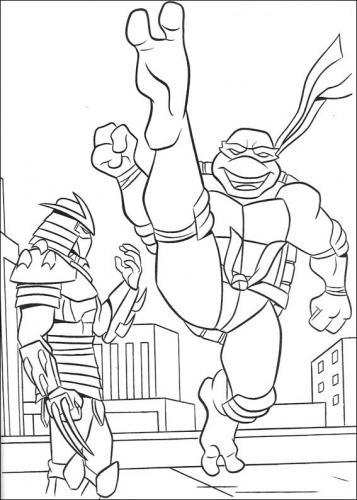 immagini-delle tartarughe ninja da colorare