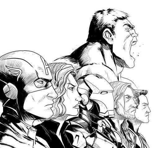immagini di Avengers Endgame