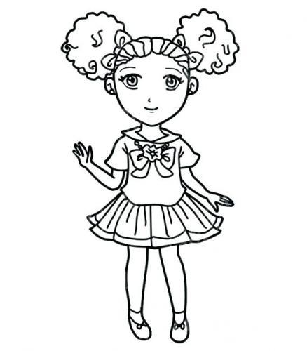 bambina con codine