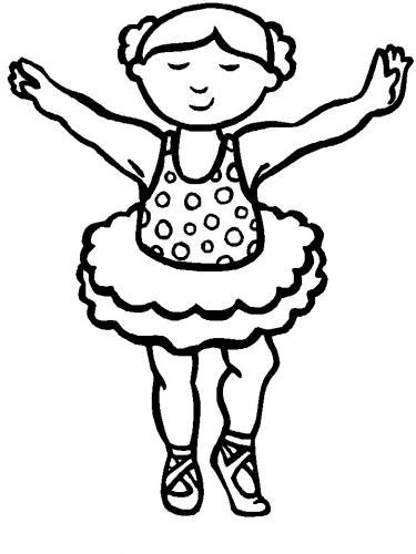bambina che danza