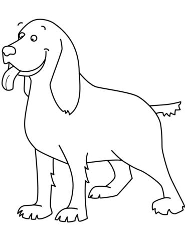 immagini di cani da disegnare