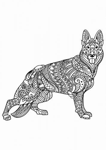 immagini di cani da stampare