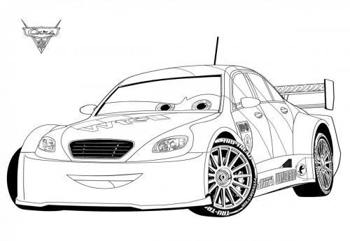 immagini di cars da colorare