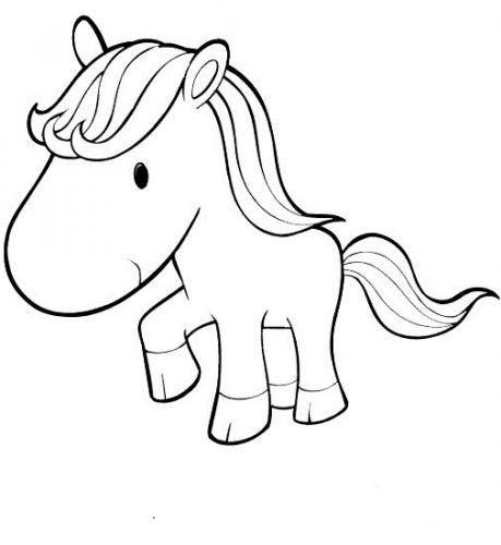immagini di cavalli da colorare e da stampare