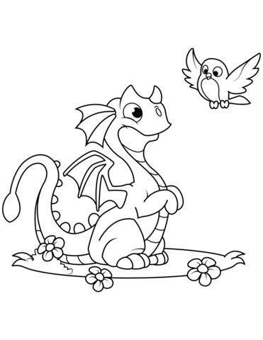 immagini di draghi per bambini