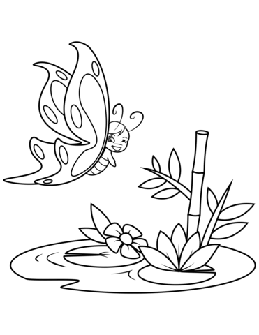 immagini di farfalle e fiori