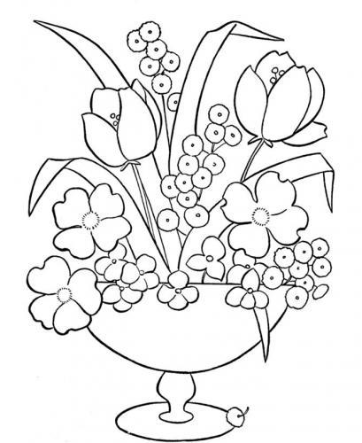immagini di fiori disegnati