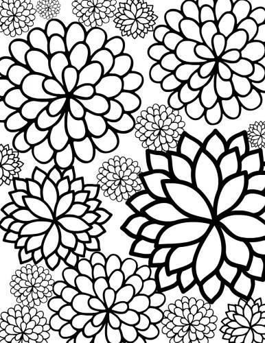 immagini di fiori stilizzati