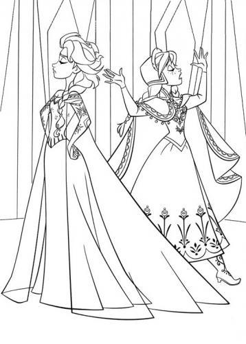 Elsa e Anna adulte