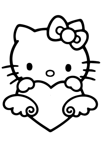 immagini di hello kitty da stampare