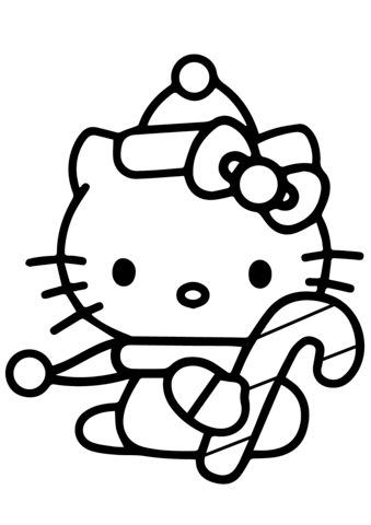 immagini di hello kitty di natale