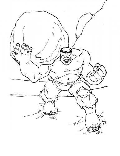immagini di hulk con la roccia