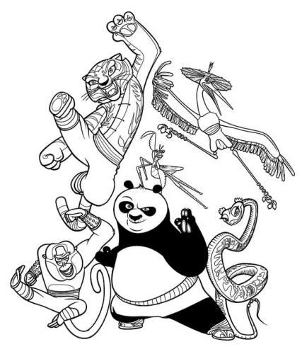 immagini di Kung Fu Panda