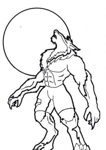 immagini di lupo mannaro