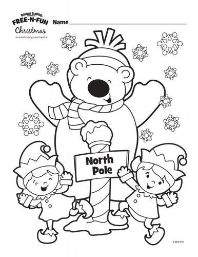 Orsacchiotto con gli elfi natalizi