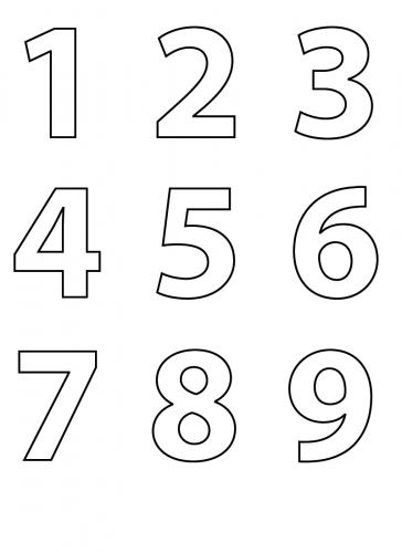 immagini di numeri