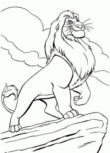 immagini di re leone