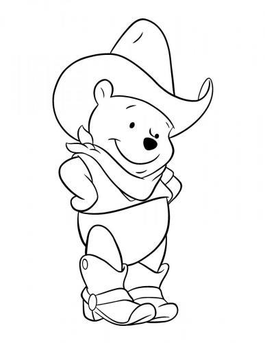 immagini di winnie the pooh da colorare