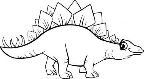 immagini dinosauri da colorare