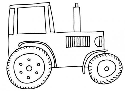 trattori da disegnare