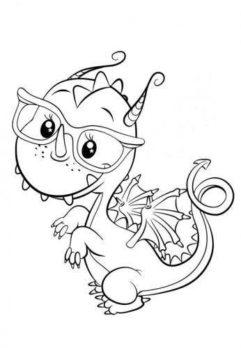 immagini draghi da disegnare